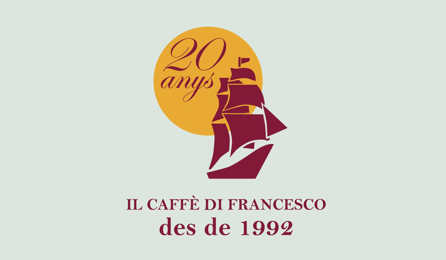 Il Caffe di Francesco, 20 anys