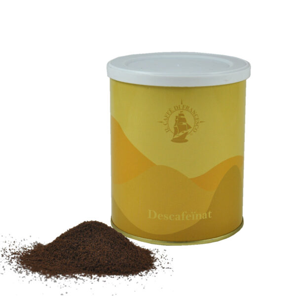Cafè mòlt descafeïnat en llauna, I Caffè di Francesco