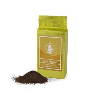 bolsa de 250 gramos cafe molido descafeinado